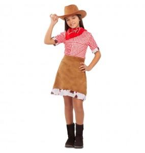 Disfarce Vaqueira Americana menina para que eles sejam com quem sempre sonharam