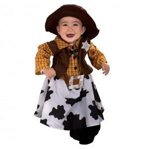 Disfarce Cowgirl beb? para deixar voar a sua imagina??o