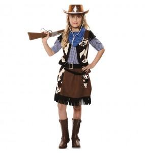 Fato de Cowgirl Pistoleira para menina