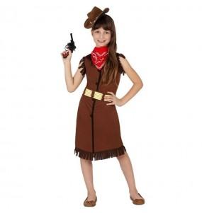 Disfarce Vaqueira Xerife menina para que eles sejam com quem sempre sonharam
