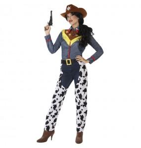 Disfarce original Vaqueira Toy Story mulher mulher ao melhor preço