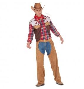 Disfarce Vaqueiro Americano adulto divertidíssimo para qualquer ocasião