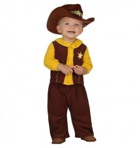 Disfarce Xerife bebé para deixar voar a sua imaginação