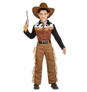 Fato de Cowboy Far West para menino