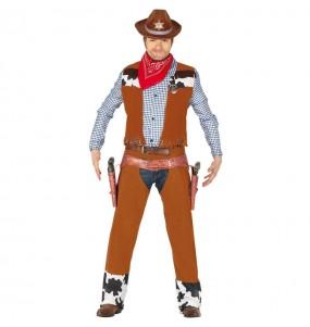 Disfarce Cowboy Rodeio adulto divertidíssimo para qualquer ocasião