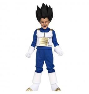 Disfarce Vegeta Dragon Ball menino para deixar voar a sua imagina??o