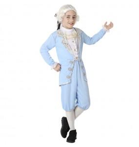 Disfarce Cortesão Azul menino para deixar voar a sua imaginação