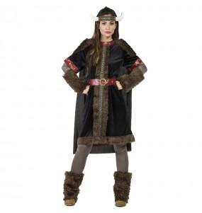 Disfarce original Viking Preto mulher ao melhor preço