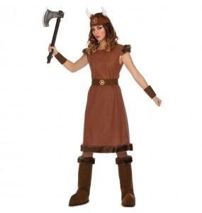 Disfarce original Viking Guerreira mulher ao melhor preço