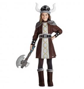 Fato de viking selvagem para menina
