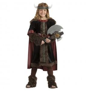 Disfarce Viking Preto menino para deixar voar a sua imaginação