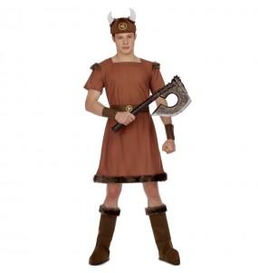Disfarce Viking Guerreiro adulto divertidíssimo para qualquer ocasião