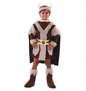 Fato de Viking marrom para menino