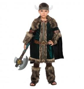 Disfarce Viking Nórdico menino para deixar voar a sua imaginação