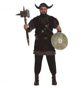 Disfarce Viking bárbaro adulto divertidíssimo para qualquer ocasião