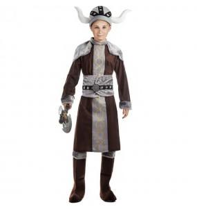 Fato de Viking selvagem para menino