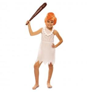 Disfarce Wilma Flintstone menina para que eles sejam com quem sempre sonharam