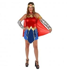 Fato de Wonder Woman Classic para mulher