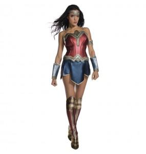 Disfarce original Wonder Woman Deluxe mulher ao melhor preço