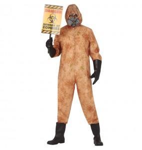 Fato de Zombie nuclear para homem