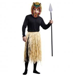 Disfarce Guerreiro Zulu adulto divertidíssimo para qualquer ocasião