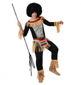 Disfarce Zulu adulto divertidíssimo para qualquer ocasião