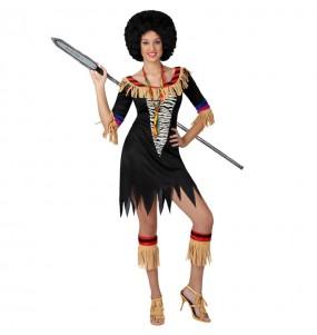 Disfarce original Zulu mulher mulher ao melhor preço