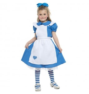 Fato del conto Alice para menina