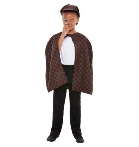 Disfarce Detetive Sherlock Holmes menino para deixar voar a sua imagina??o