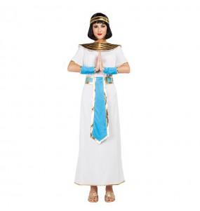 Disfarce original Egípcia Azul mulher ao melhor preço