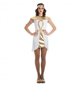 Disfarce original Egípcia Dourada mulher ao melhor preço