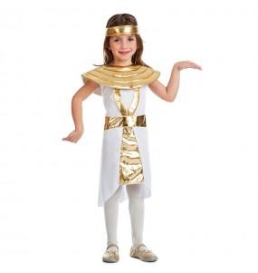 Disfarce Egípcia Dourada menina para que eles sejam com quem sempre sonharam
