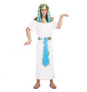 Disfarce Egípcio Azul adulto divertidíssimo para qualquer ocasião