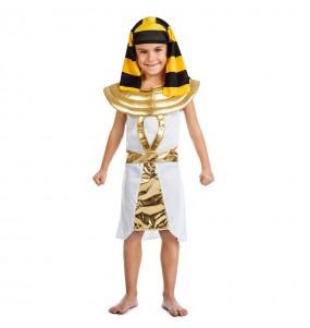Disfarce Egípcio Dourado menino para deixar voar a sua imaginação