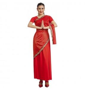 Disfarce original Estrela Bollywood mulher ao melhor preço