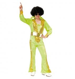 Disfarce Disco Pop anos 70 adulto divertidíssimo para qualquer ocasião