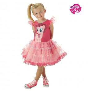 Disfarce My Little Pony Pinkie Pie menina para que eles sejam com quem sempre sonharam