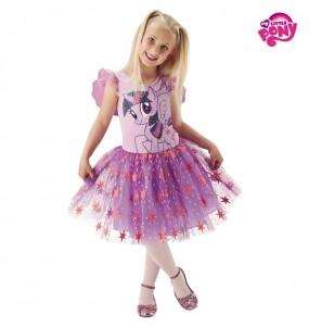 Disfarce My Little Pony Twilight Sparkle menina para que eles sejam com quem sempre sonharam