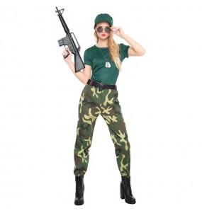 Disfarce original Militar Camuflagem mulher ao melhor preço
