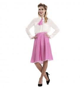 Disfarce original Pin Up rosa mulher ao melhor preço