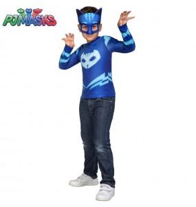 Disfarce PJ Masks Gatuno menino para deixar voar a sua imagina??o