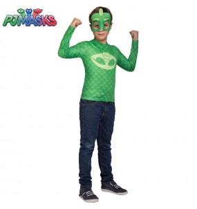 Disfarce PJ Masks Gekko menino para deixar voar a sua imagina??o