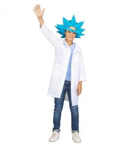 Disfarce Rick e Morty menino para deixar voar a sua imaginação