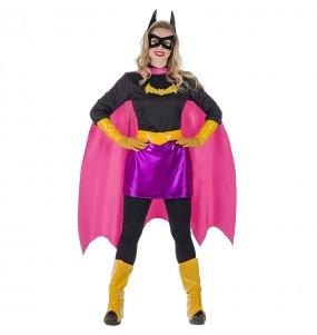 Disfarce original Super Heroína Morcego mulher ao melhor preço