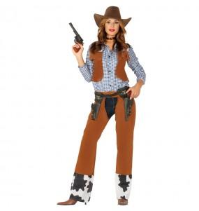 Disfarce original Cowgirl Rodeio mulher ao melhor preço