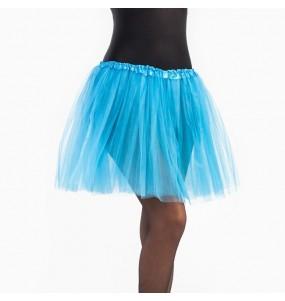 Disfarce original Saia Tutu Azul Claro mulher ao melhor preço