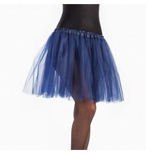 Disfarce original Saia Tutu Azul Escuro mulher ao melhor preço