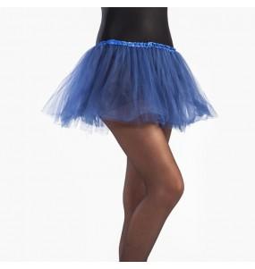 Disfarce Saia Tutu Azul Escuro menina para que eles sejam com quem sempre sonharam