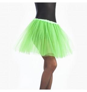 Disfarce original Saia Tutu Verde Claro mulher ao melhor preço
