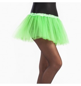 Disfarce Saia Tutu Verde Claro menina para que eles sejam com quem sempre sonharam